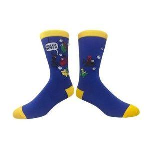 "Other - Men's ""Hello Boys"" Novelty Dress Socks"